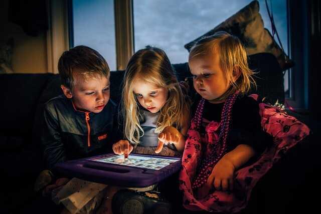 touchpad-kinderen
